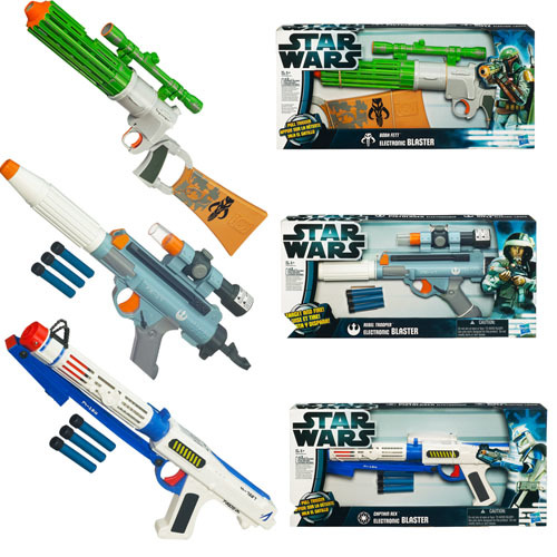Star Wars Electronic Blasters Wave 0.5