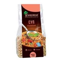 Здороведа суп итальянский с красной чечевицей и макаронами 250 г