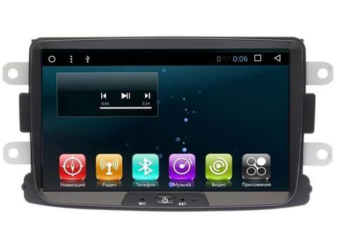 Магнитола CB3068T8  для Renault/Lada/Nissan Android 8.1