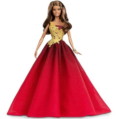 Барби Новогодняя Коллекция 2016 Красное Платье
