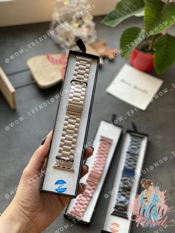 Ремешок Apple Watch 42/44mm Metal old 3-bead /gold/