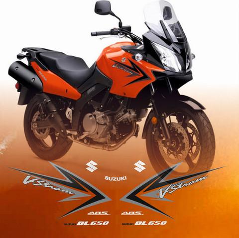 Набор наклеек на мотоцикл SUZUKI DL650 V-STROM 2009