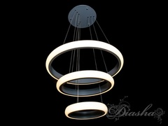 Современная светодиодная Подвесная LED Люстра с пультом и диммером 70W