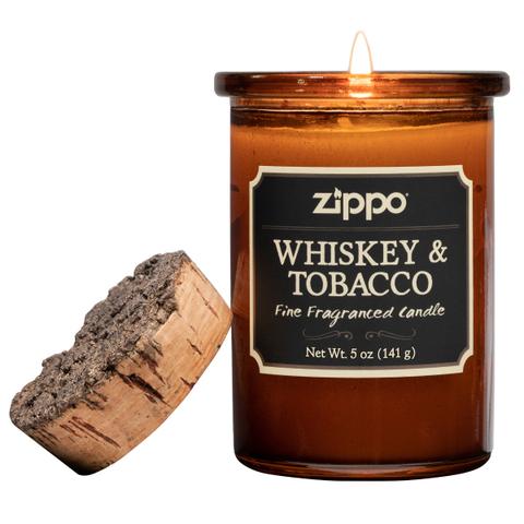 Ароматическая свеча Zippo Whiskey & Tobacco ZIPPO 70015