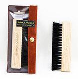 Щетка Антистатическая Для Виниловых Пластинок (Simply Analog Vinyl Record Brush)(Natural Wood)
