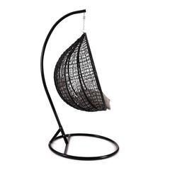 Кресло подвесное (mod. SC-001) с подушкой (черный)