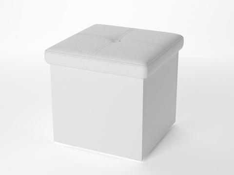 ЛДСП+Экокожа, Белый с белым