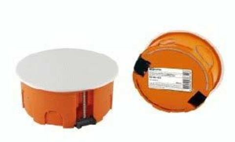 Коробка распаячная СП D80х40мм крышка пл.лапки TDM