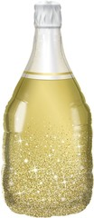К Фигура, Бутылка Шампанское