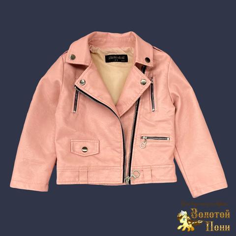 Куртка экокожа девочке (5-13) 210805-К77820