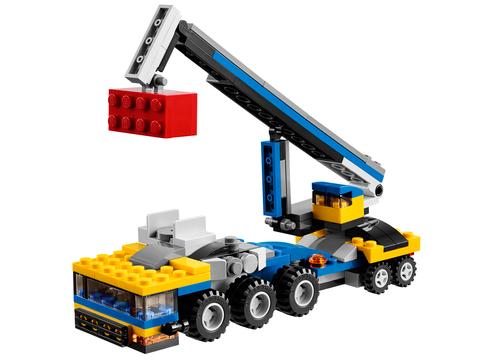 LEGO Creator: Автотранспортер 31033 — Vehicle Transporter — Лего Креатор Творец Создатель