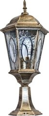 Светильник садово-парковый, 60W 230V E27 черное золото, PL154 (Feron)