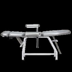 Педикюрное кресло СП Оптима с широкими подлокотниками, регулируемыми по высоте
