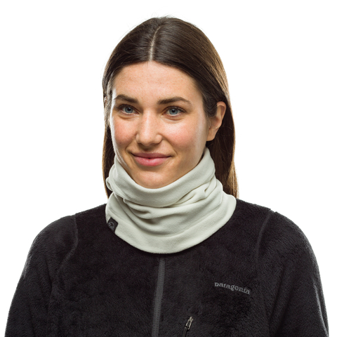 Шарф-труба флисовый Buff Neckwarmer Polar Solid Cru фото 2