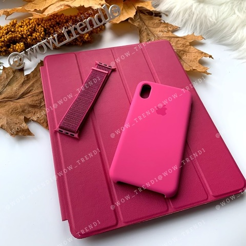 Чехол Smart Case iPad Air 2 /raspberry/