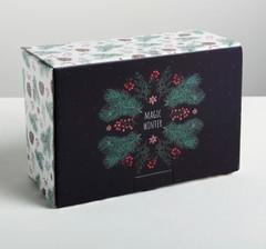 Складная коробка Winter time, 22 × 15 × 10 см, 1 шт.
