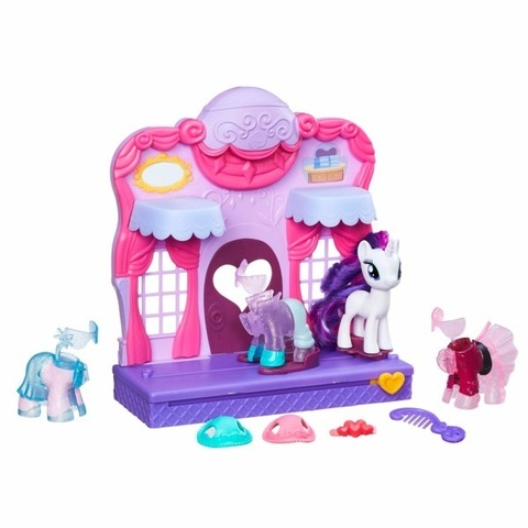 Hasbro My Little Pony Май Литл Пони Бутик Рарити в Кантерлоте – купить в Казахстане