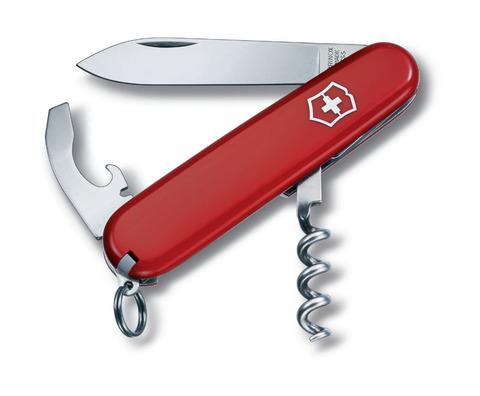 Нож перочинный VICTORINOX Waiter, 84 мм, 9 функций, красный VC3303