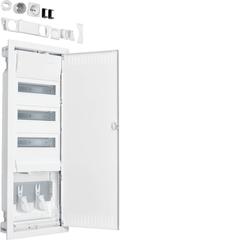 Щит Volta встраиваемый, 36 мод + 1 монтажная панель мультимедиа, пластиковая дверь