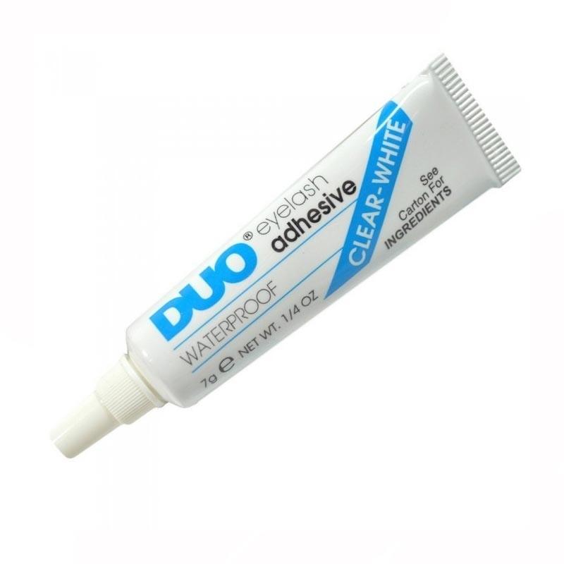 DUO Eyelash Adhesive Clear бесцветный клей для накладных ресниц 7г