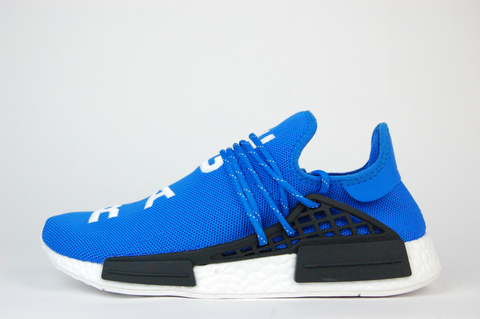 кроссовки Adidas NMD x Pharrell Williams Human Race Blue