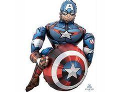 А Ходячая фигура, Капитан Америка, Мстители, 34