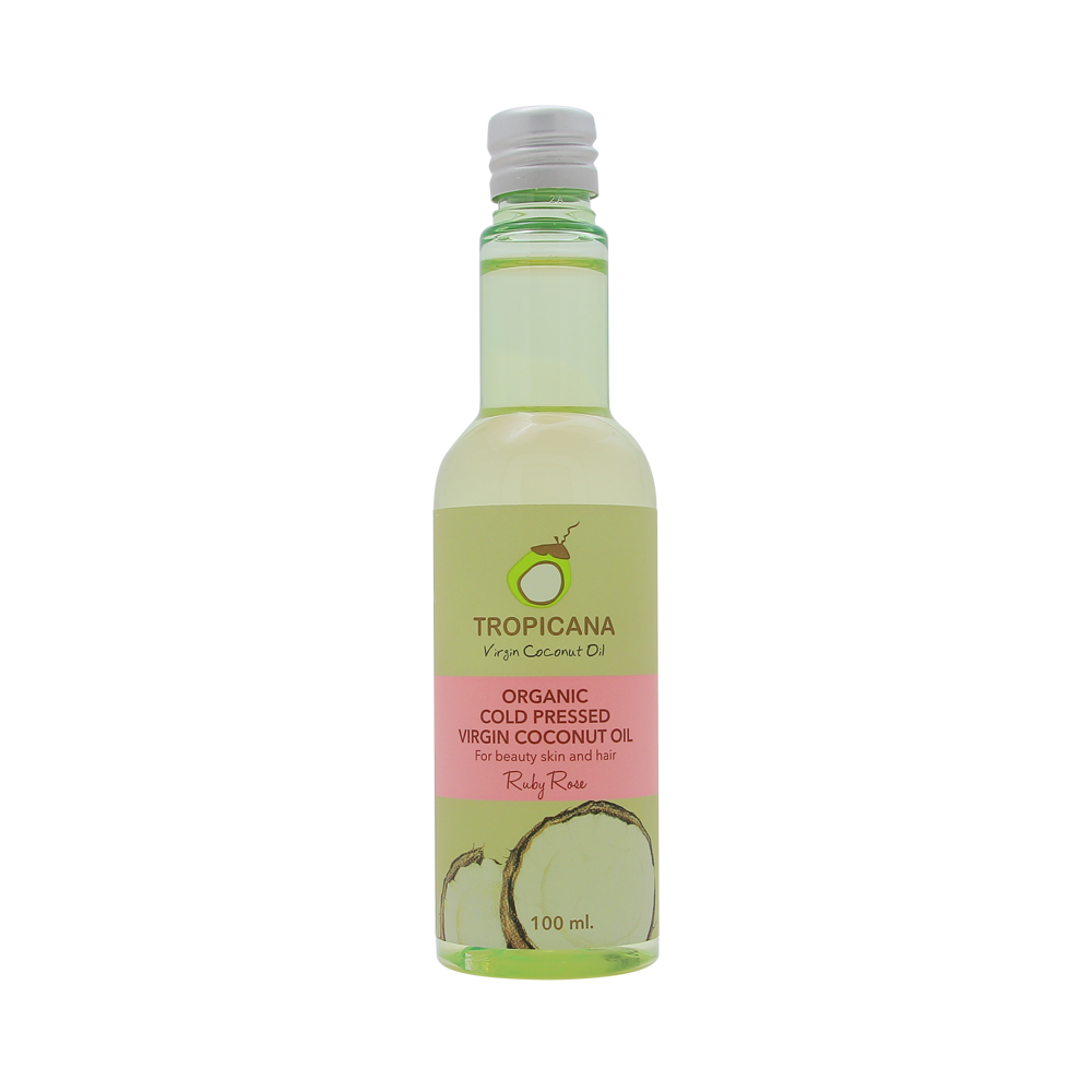 TROPICANA OIL Кокосовое масло с ароматом «Ruby Rose» , TROPICANA OIL, 100мл tpo-organic-coconut-oil-ruby-rose-100g.png