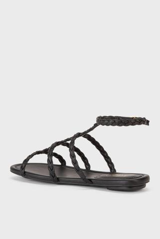 Женские черные сандалии Arezzo