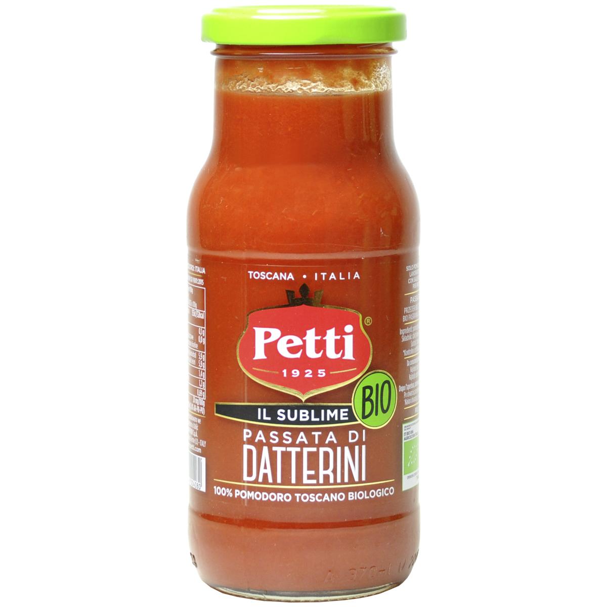 Petti Натуральный томатный соус Пассата из Даттерини БИО 350 г