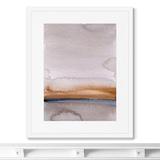 Marina Sturm - Репродукция картины в раме Late evening river bank