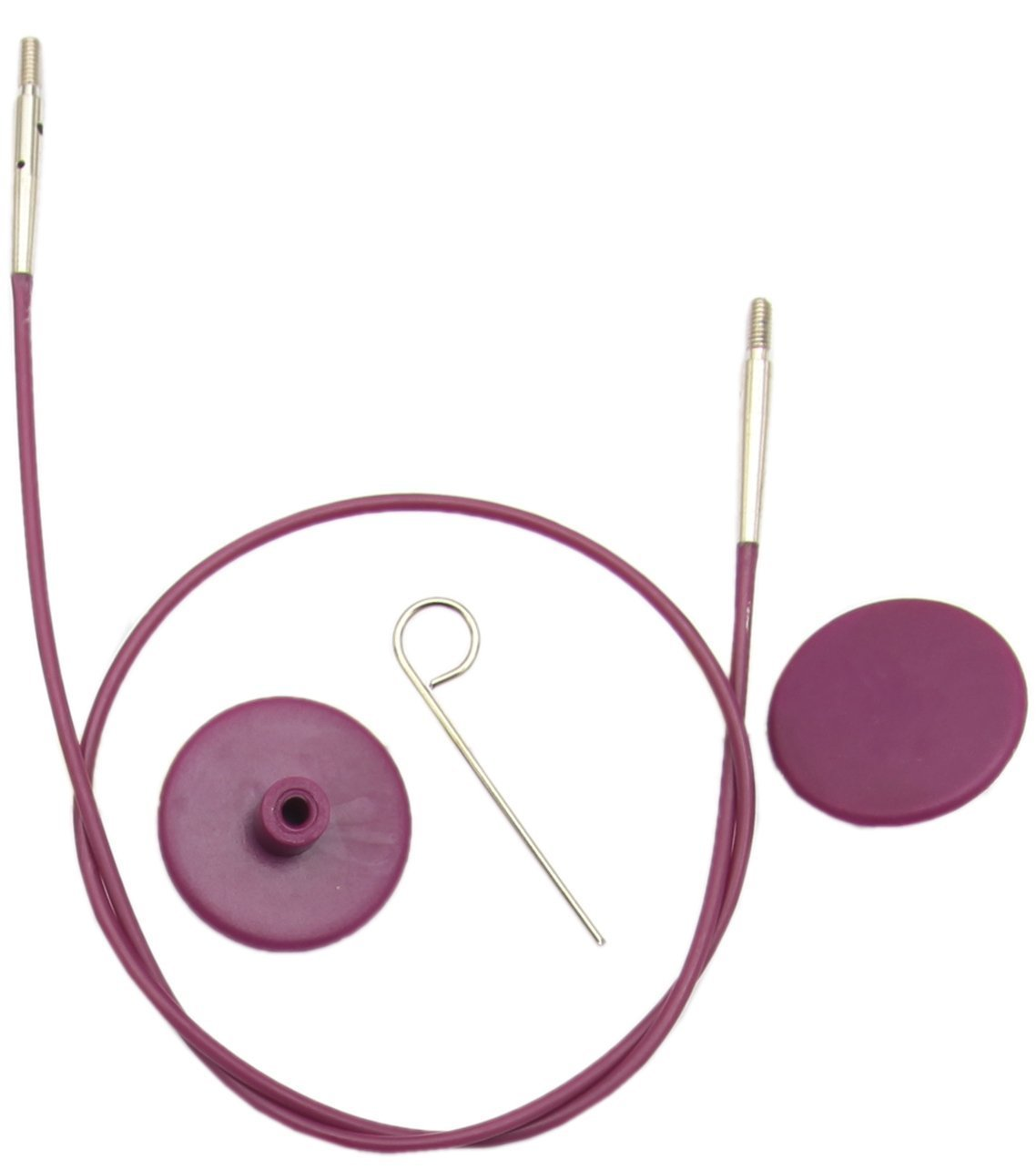 KnitPro Леска сменная Purple Silver 50 см 10561