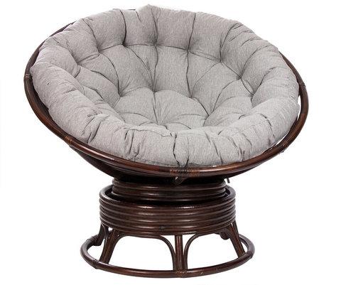 Кресло-качалка Papasun Swivel ROCKER с подушкой, MI-004 О
