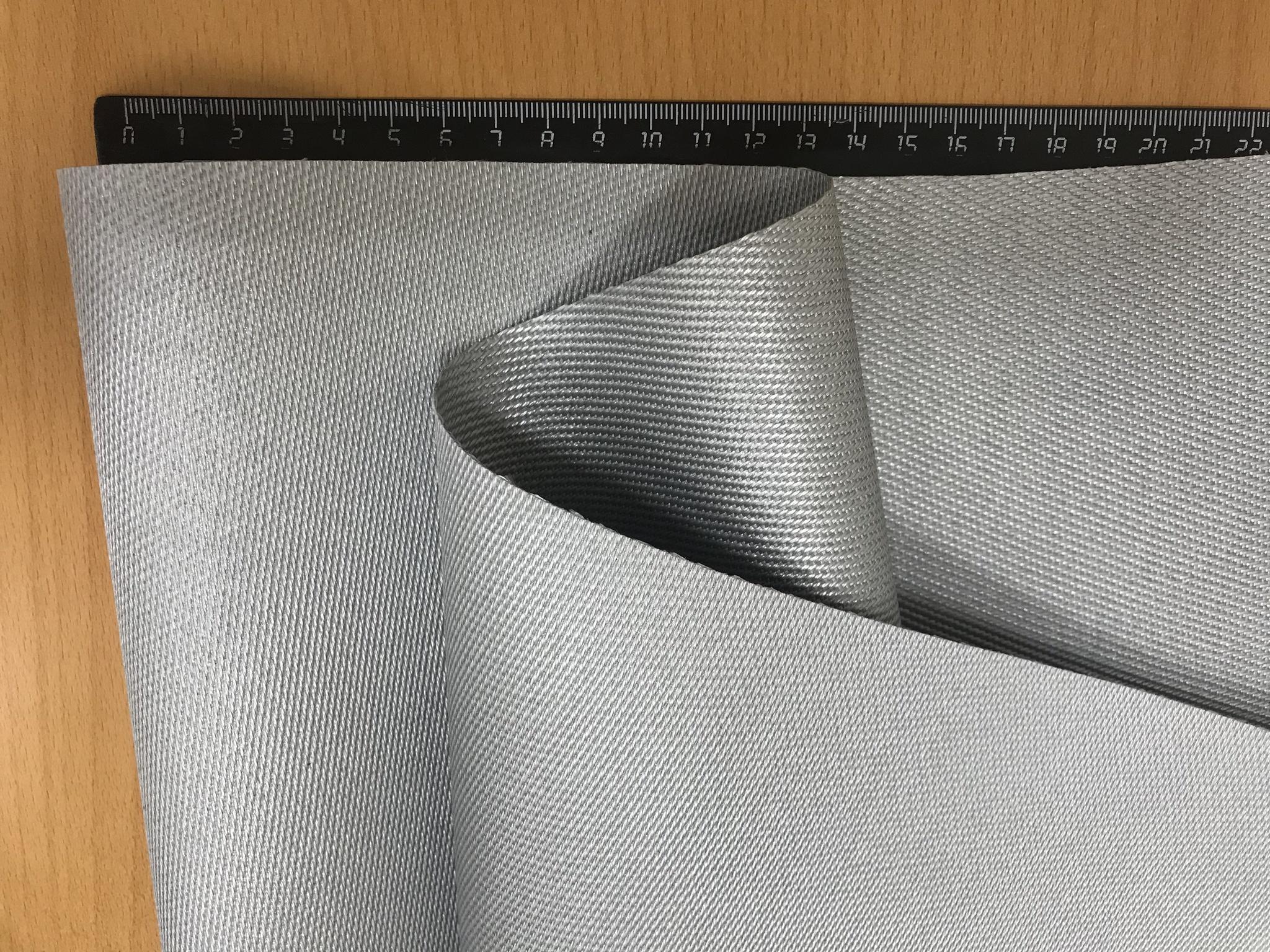Кремнеземная ткань КТ-11 с ПУ покрытием двусторонняя