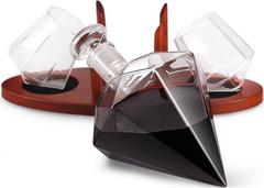Набор для виски на подставке декантер «Бриллиант», 1000 мл/200 мл, фото 1