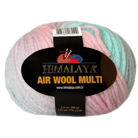 Air Wool Multi Himalaya (74% акрил, 13% полиамид, 13% шерсть, 100гр/155м)