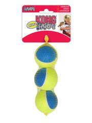 Игрушка для собак KONG Ultra Squeak мячик средний 3 шт. в уп. 6 см