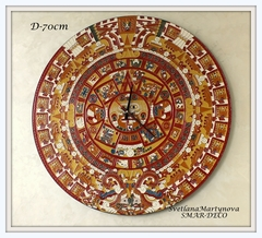 Часы настенные Календарь Майя