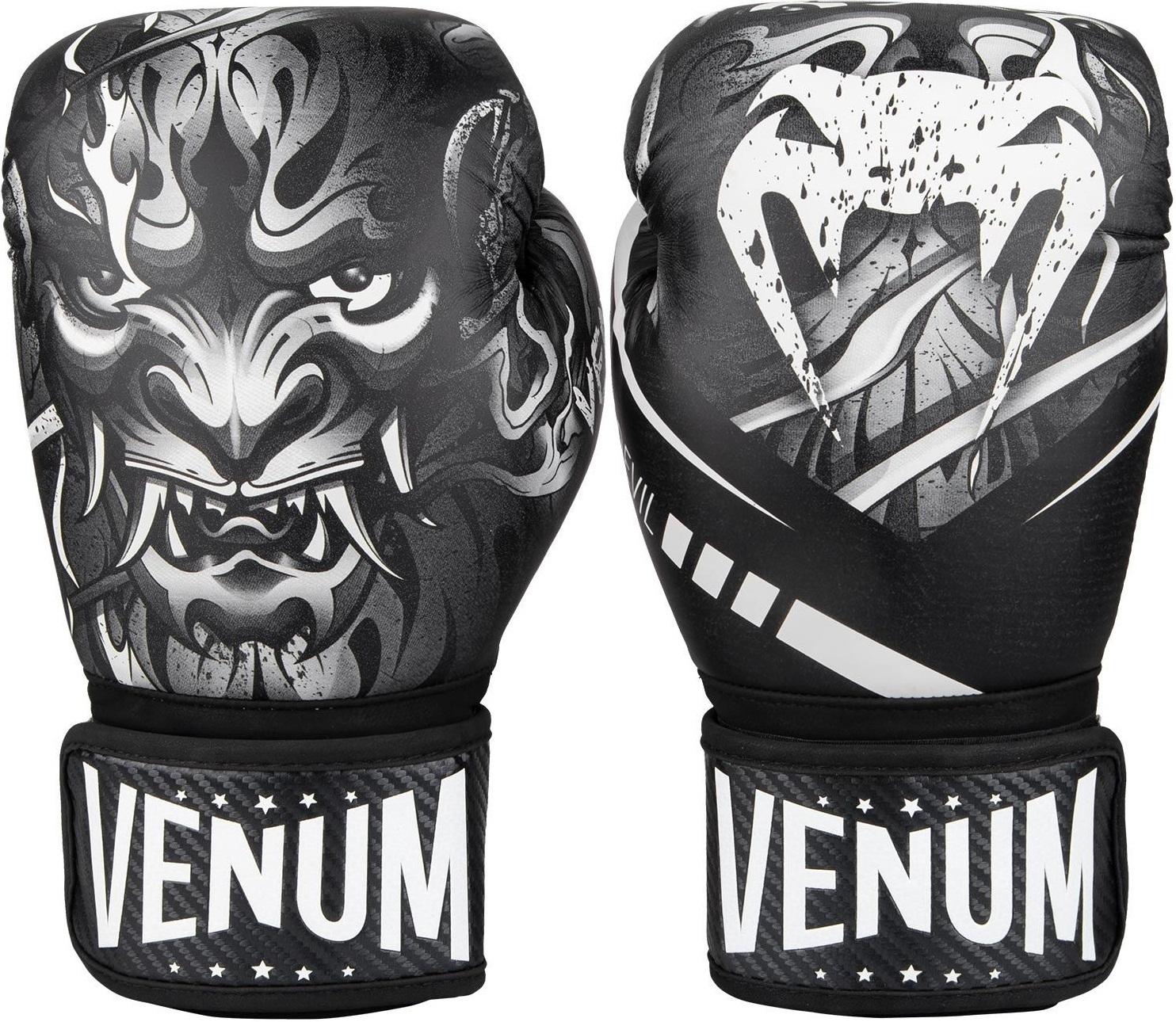 Перчатки Перчатки для бокса Venum Devil Boxing Gloves - White/Black 1.jpg