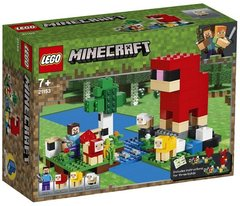 Lego konstruktor Minecraft The Wool Farm