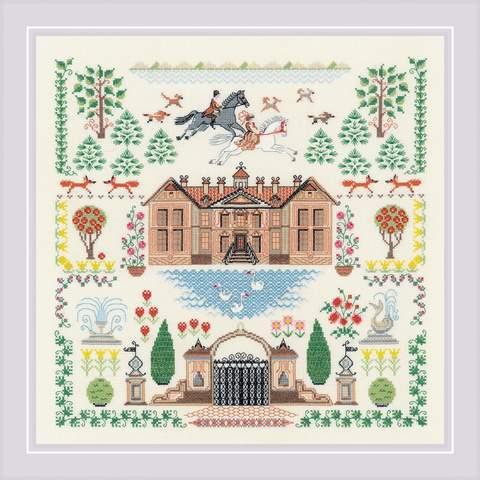 Набор для вышивания крестом «Мой дом» (1917)