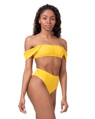 Спортивный топ Nebbia Miami retro bikini - top 553yellow