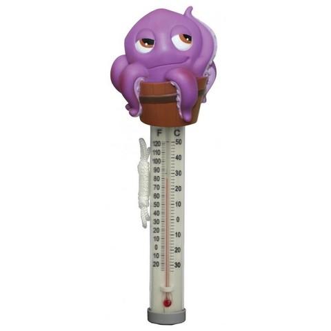 Термометр игрушка Kokido K265DIS/6P Осьминог / 12176