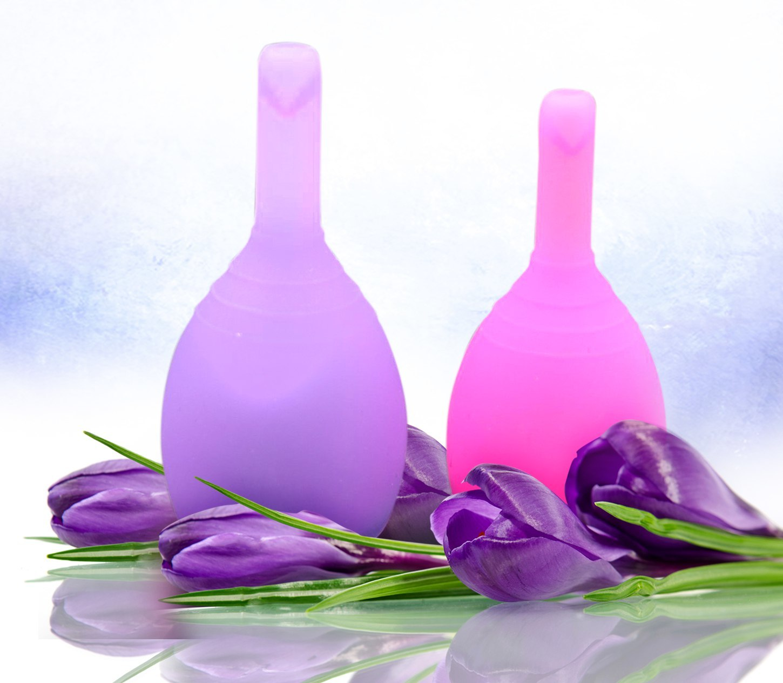 Менструальная чаша VIOLA с клапаном (размер L)