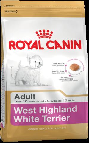 Для собак породы Вест-хайленд-уайт-терьер от 10 месяцев
