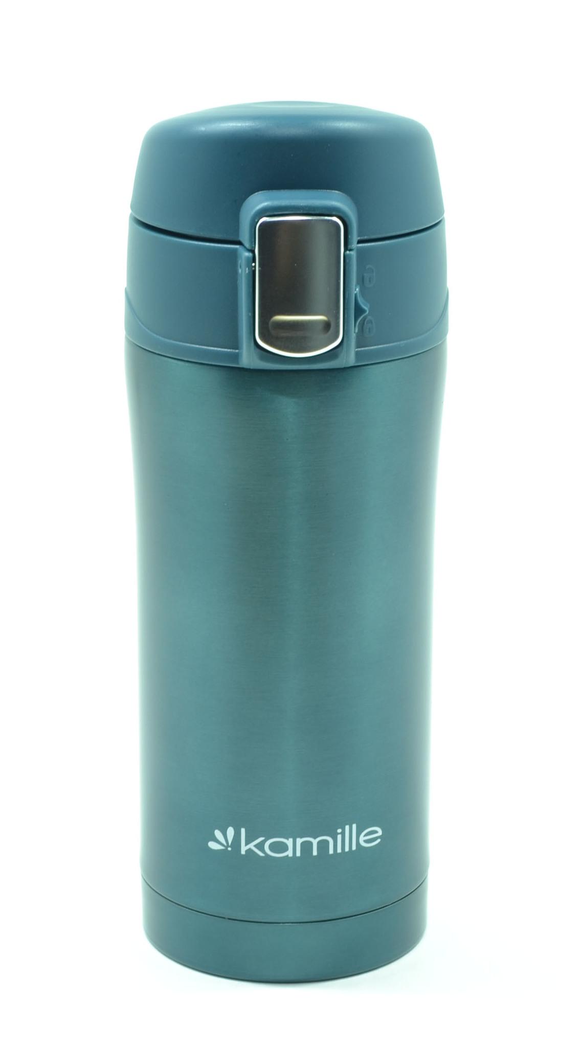 Термос-кружка Kamille 320 мл. зеленый