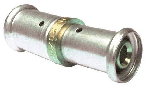 Henco муфта пресс 20х16 мм редукционная для металлопластиковых труб (16P-2016)