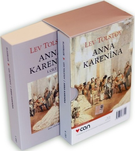 Anna Karenina-2 Cilt Kutulu