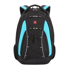 Рюкзак городской Wenger черный/синий