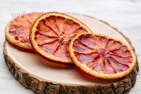 чипсы из красного апельсина