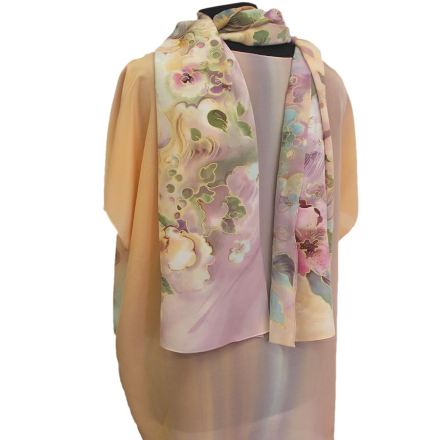 Шелковая блузка Жемчужина П-182